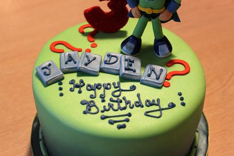 Awe Inspiring Super Why Birthday Cake Super Why Themed 3Rd Birthday Cake Flickr Personalised Birthday Cards Paralily Jamesorg