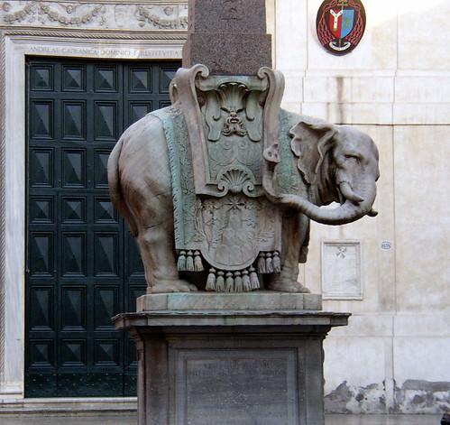 Bernini Sculpture | The Pulcino della Minerva, by Gian ...