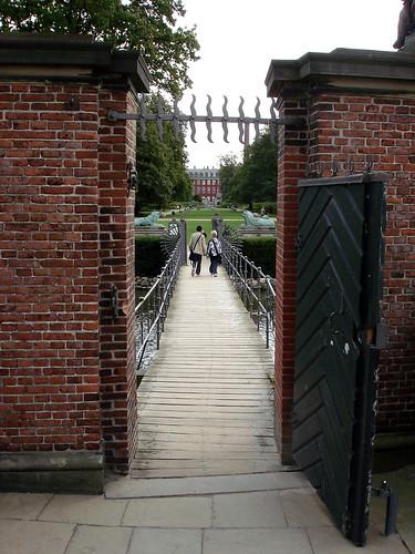 Bridge across the Moat