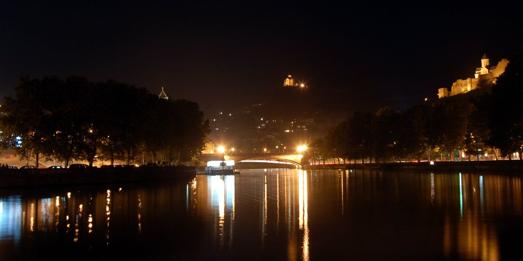 reflecting river