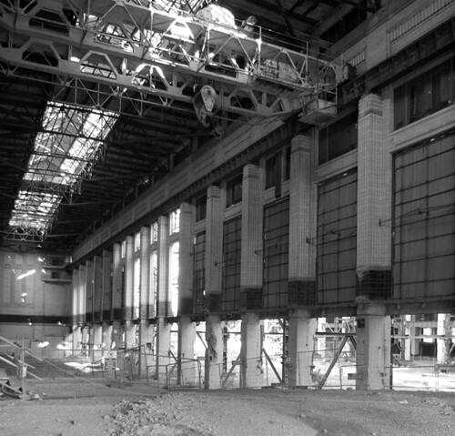 West turbine hall, Battersea Power Station | by nakwoodford