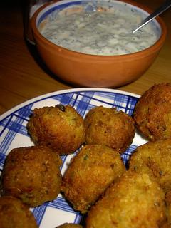 Indian rice balls