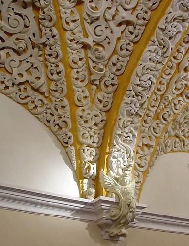 Detalle de stucco en el Salón Barroco