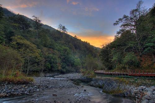 sunrise taiwan taichung hdr 武陵 photomatix