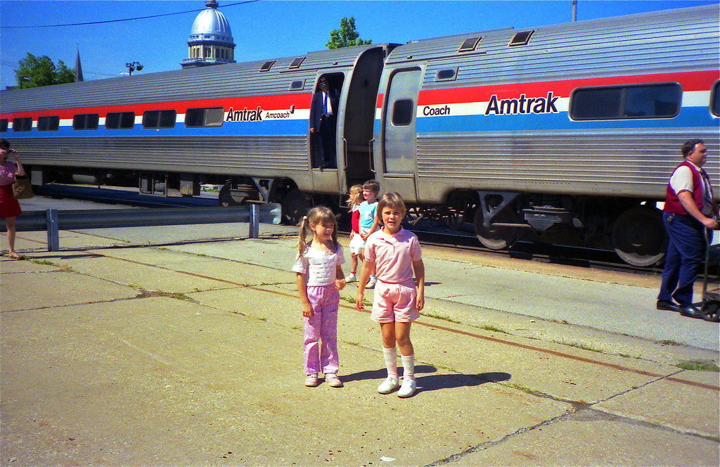 Amtrak School Field Trip to Springfield, IL - 1985 | Flickr