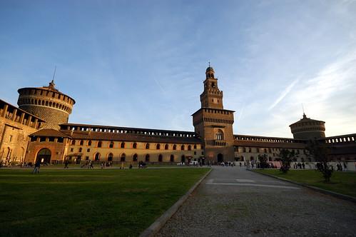 Castello Sforzesco | by Sciamano