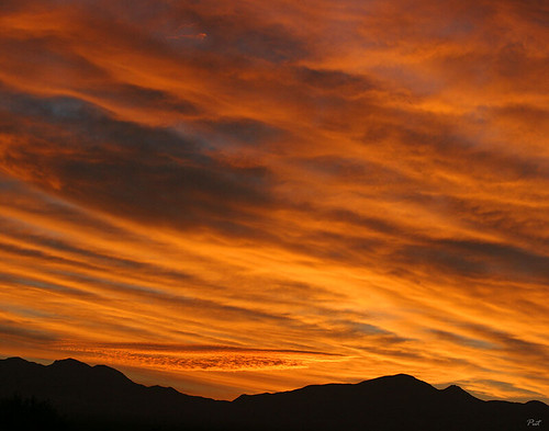 arizona usa sunrise landscape greenvalley