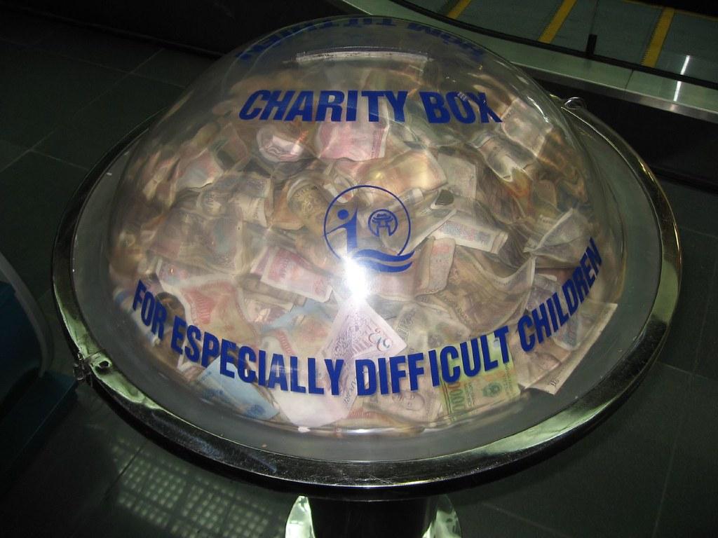Hanoi Airport Donation Box