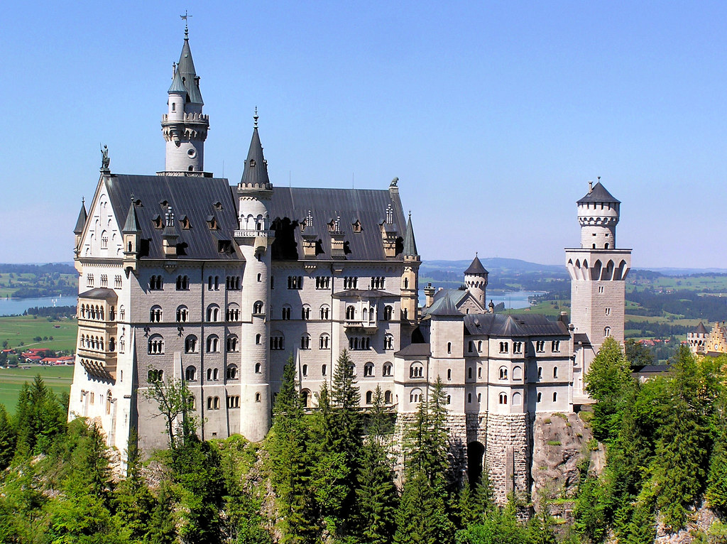 King Ludwig S Neuschwanstein Castle In Bavaria All Right
