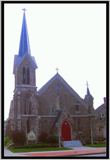 Brockport NY ~ St. Luke's Episcopal Church ~ NRHP