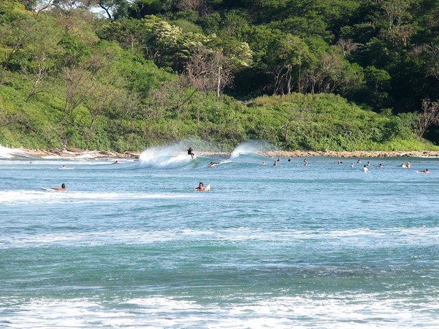 Surfing, Maderas beach