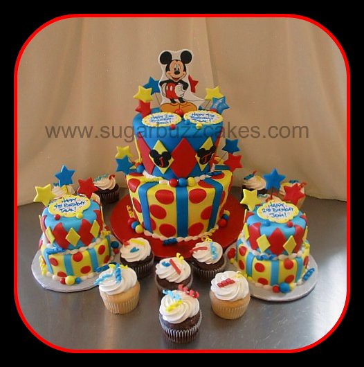 Wondrous Mickey Mouse Birthday Cake Carol Flickr Funny Birthday Cards Online Hendilapandamsfinfo