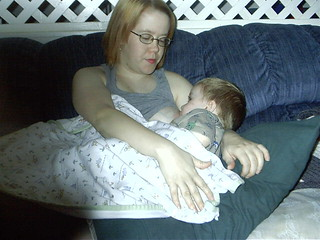 Jenn and Jon, age 1 1/2