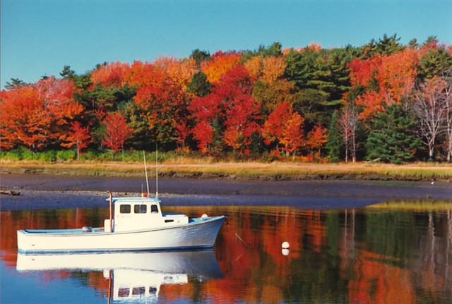 Kennebunkport, Maine Autumn Travel