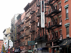 NYC: Lower East Side Buildings