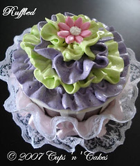 New - Ruffled Design by Cups 'n' Cakes | by CupsNCakes