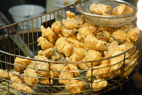 萬華夜市 炸土魠魚- Wan Hua Night Fried Cero | by PAPA GO!!!