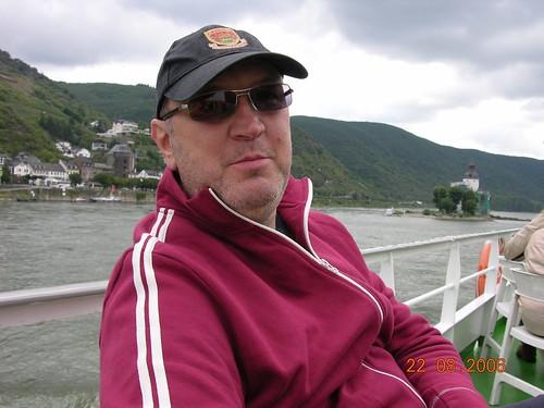 Boat trip on Rhine