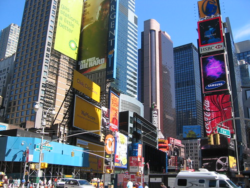 Times Square facing north | by Nerdimus Prime