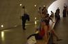 documenta 11 -  visitors in the tunnel
