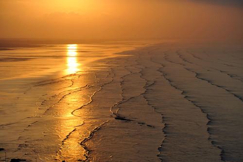 city orange costa sun reflection water del bay mar waves tide oleaje amanecer amarillo coco shore bahia panama este naranja olas marea yellos abigfave ltytr1 flickrdiamond
