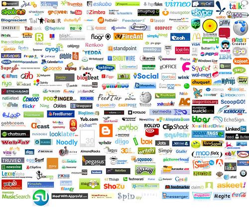 Web 2.0 Collage logos   by premiardiego