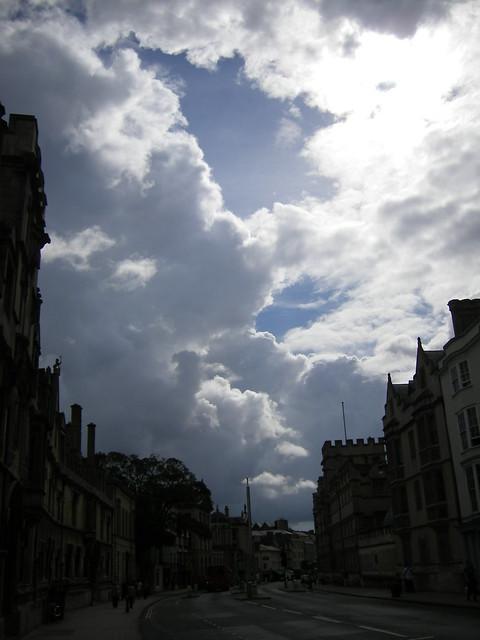Més núvols sobre Oxford