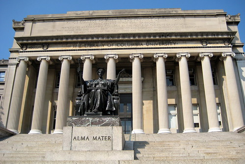 NYC - Columbia University - Alma Mater and Low Memorial Library | by wallyg