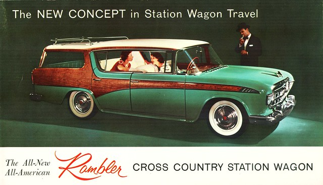 1956 Rambler Custom Cross Country Hardtop Station Wagon