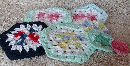 hex granny squares | by sunshine's creations