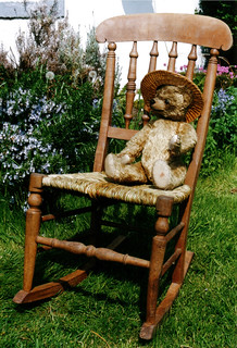 Rush rocking chair | by allybeag