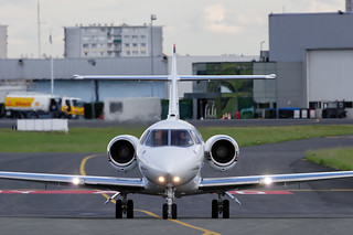 Hawker 800 // VP-BXP