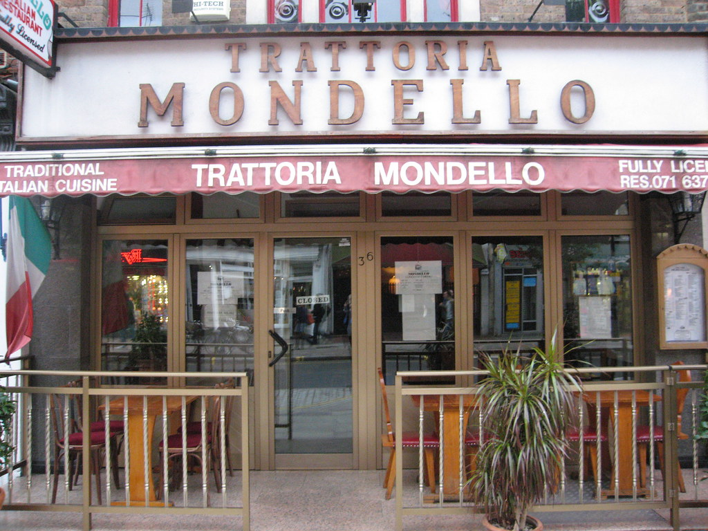 Trattoria Mondello in Goodge Street