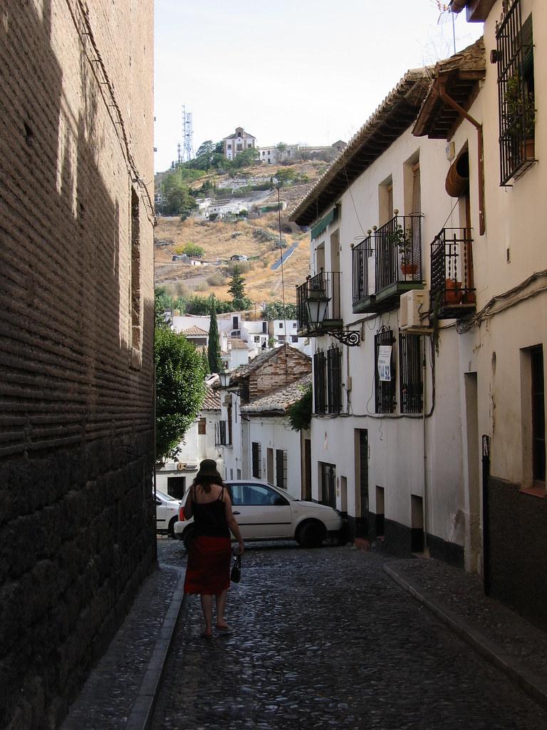 Granada   Exploring the Albayzin, the old Moorish quarter   jan