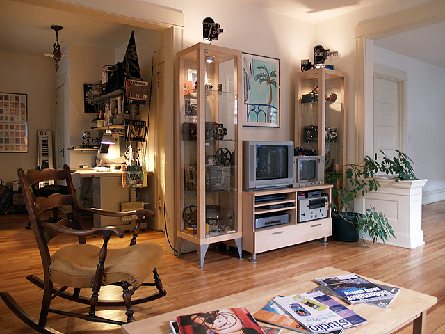 Cabinets by IKEA; decor by