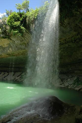 pool austin waterfall texas dri hamiltonpool