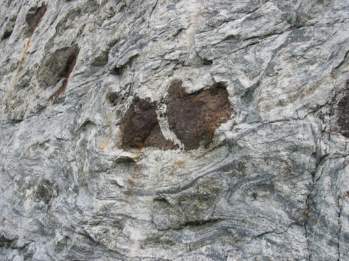 adirondacks marble geology trainwreck deformation boudinage