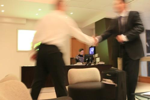 Corporate Cliche Shot No. 57 - 'The Handshake' | by drewleavy