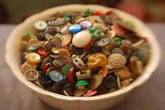 recent thrifting: buttons | by SouleMama