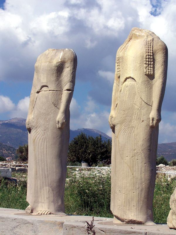 Samos Island Athena Temple Ancient Family Without Thoug Flickr
