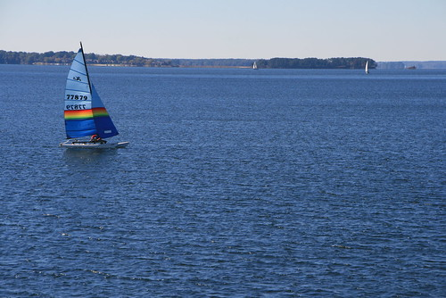 Hobie 16 sailing across Lake Murray | by V-rider