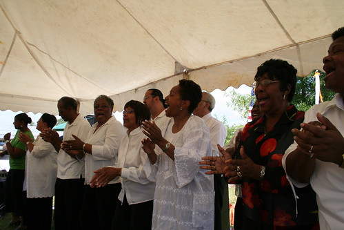 St. Peter Claver Catholic Church Gospel Choir @ Juneteenth in Lexington Park MD on 16 June 2007 | by Elvert Barnes