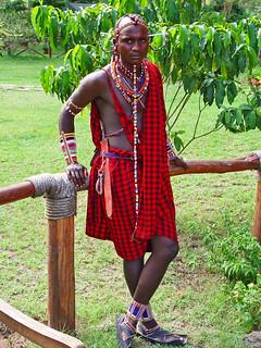 Masai guy