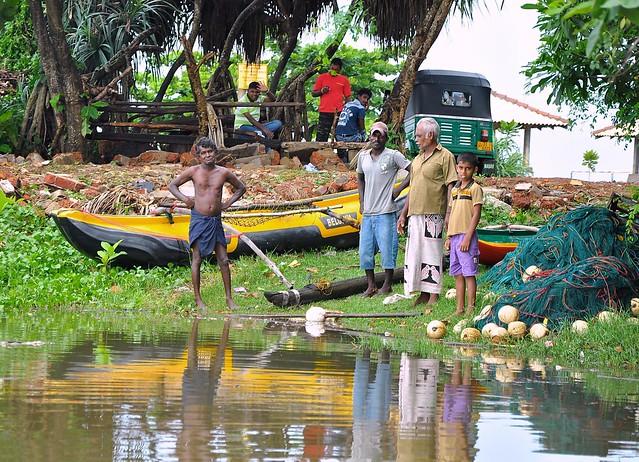 Boat people of Sri Lanka