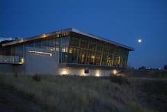 Galt Museum at night by Galt Museum & Archives