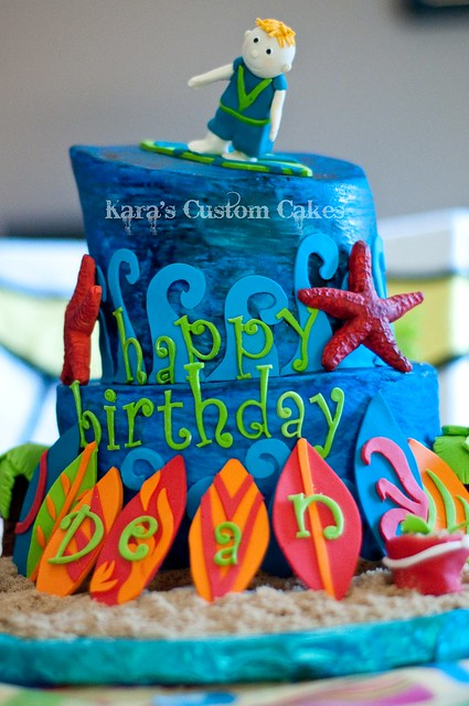 Surfer Cake!