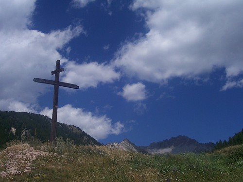 Wooden Cross at Souliers | by Bods