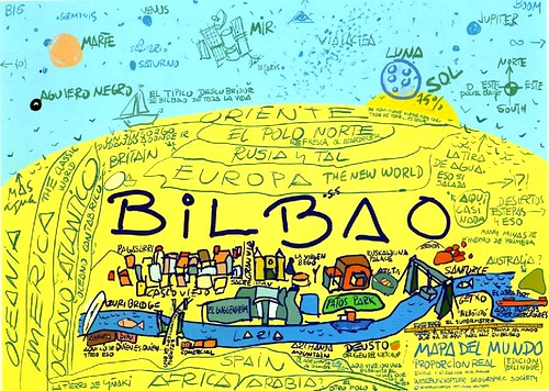 Mapamundi de Bilbao