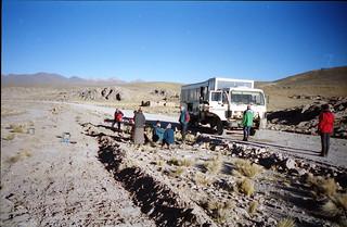 Breakfast on the Altiplano