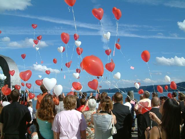 Luftballonherzen - Love Balloons